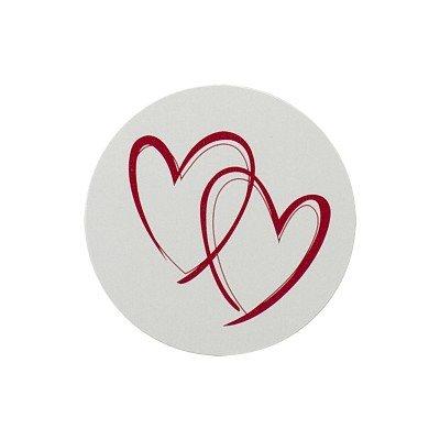 Buromac La Vie en Rose Sluitzegel met rode harten (173009)