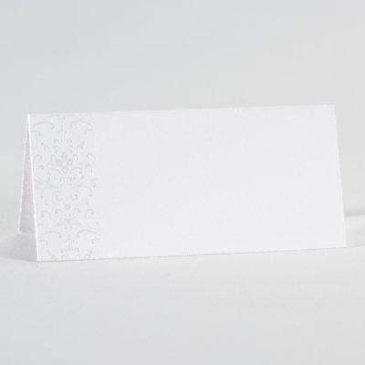 Buromac La Vie en Rose Wit tafelkaartje met bloemmotief (226002)