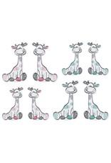 Belarto Hello World Geboortekaartje - Girafje mintgroen (718002)