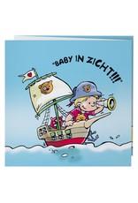 Belarto Hello World Geboortekaartje - Piraat (718041) - Copy