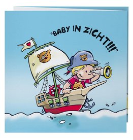 Belarto Hello World Geboortekaartje - Piraat