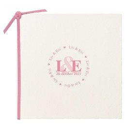 Belarto Hello World Geboortekaartje - Strak en stoer, roze