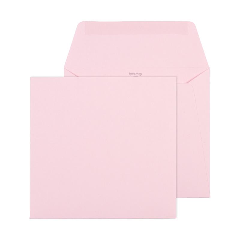 Buromac Baby Folly 2019 Geboortekaart met roze olifantje (589011)