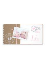 Familycards Klein Wonder Geboortekaartje met foto en ecolook omslagje(66586)