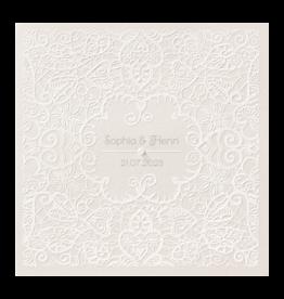Belarto Celebrate Love Huwelijkskaart - Romantische print