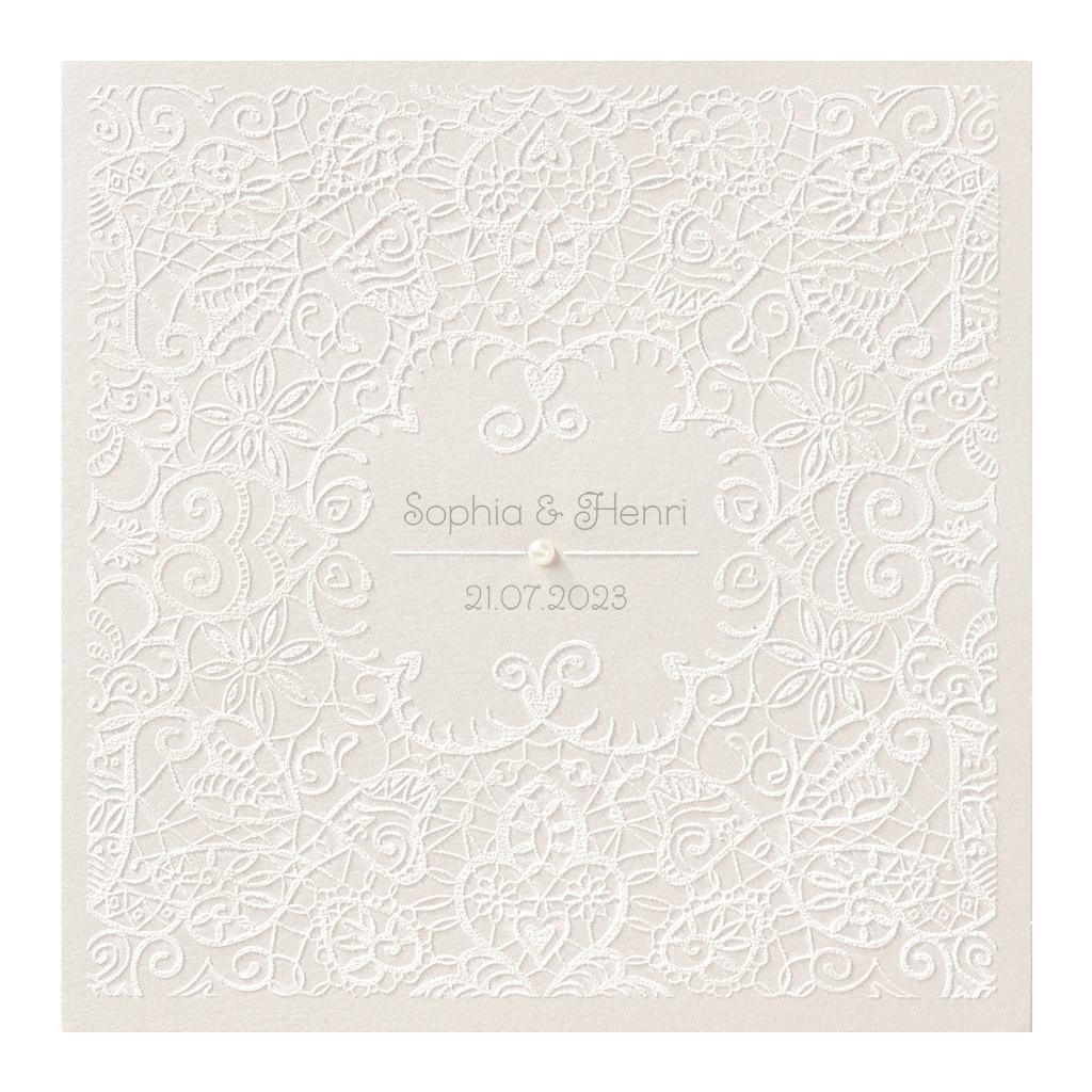 Belarto Celebrate Love Huwelijkskaart - Romantische print (725003)