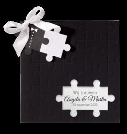 Belarto Celebrate Love Huwelijkskaart - Puzzelstukje
