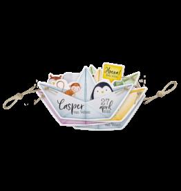 Belarto Geboorte 2020 Geboortekaartje bootjes van papier