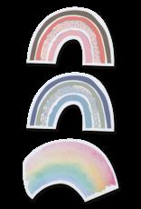 Belarto Geboorte 2020 Geboortekaartje - Trendy regenboog blauw (610030-N)