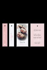 Belarto Geboorte 2020 Geboortekaartje - DIY met labeltjes, roze (610024M)