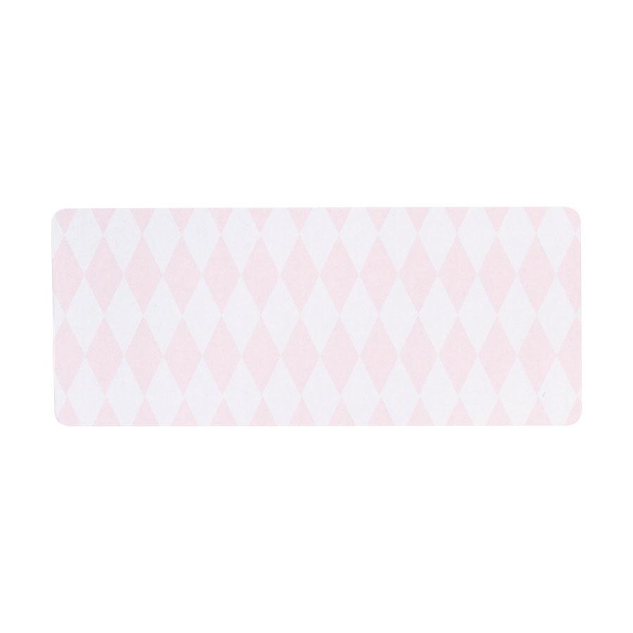 Buromac Pirouette Zelfklevende etiketten -  roze ruitje (576207)