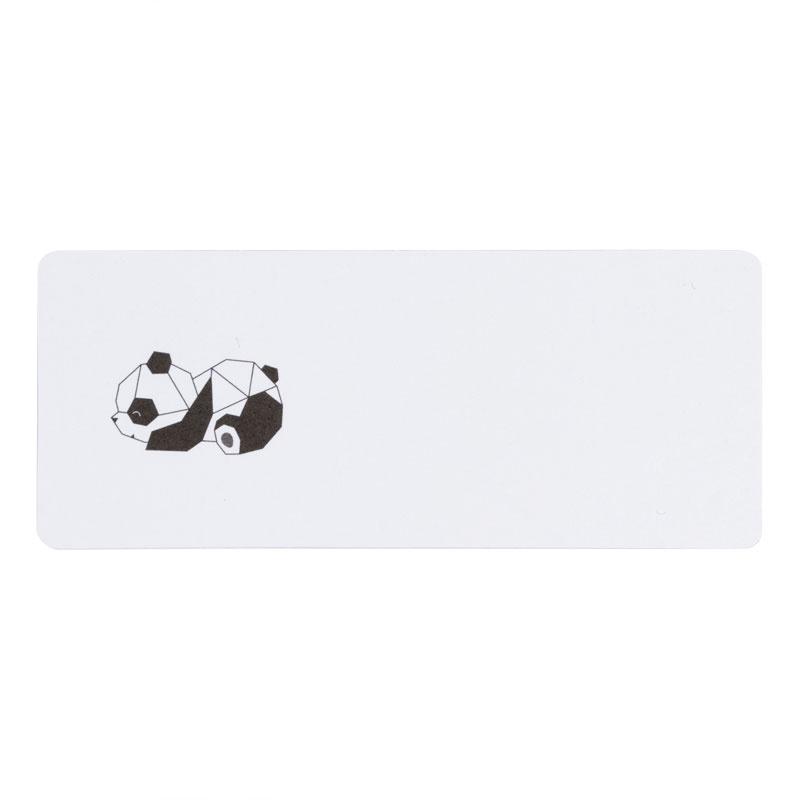 Buromac Pirouette Zelfklevende etiketten -  panda (579269)