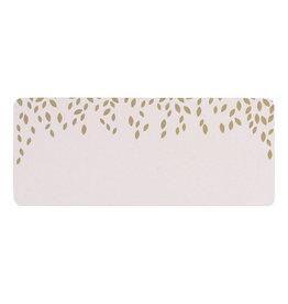 Buromac Pirouette Zelfklevende etiketten - blaadjes, roze