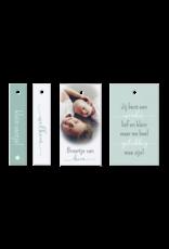 Belarto Geboorte 2020 Geboortekaartje - DIY met labeltjes, groen (610024N)