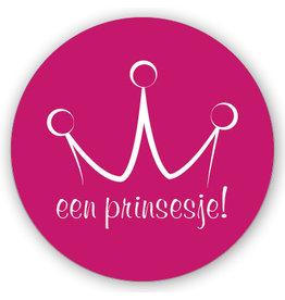 Mare Sluitzegel roze prinsesje