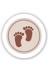 Mare  Sluitzegel bruine voetjes (SL-053)