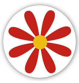 Mare Sluitzegel rode bloem