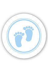 Mare  Sluitzegel blauwe voetjes (SL-024)