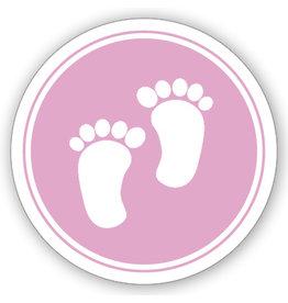 Mare Sluitzegel roze voetjes