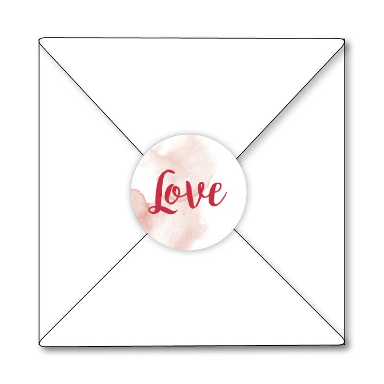 Mare Sluitzegel Sluitzegel Love rood (HZ-005)
