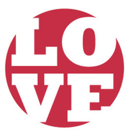 Mare Sluitzegel LOVE-rood
