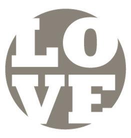Mare Sluitzegel LOVE-mauve