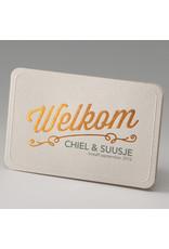 Belarto Stay Geboortekaart Welkom met roodkoper (714033)