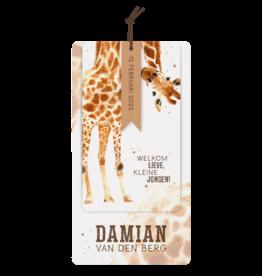 Belarto Geboorte 2020 Geboortekaart Giraf
