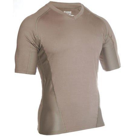 Engineered Fit Shirt Short Sleeve Vneck