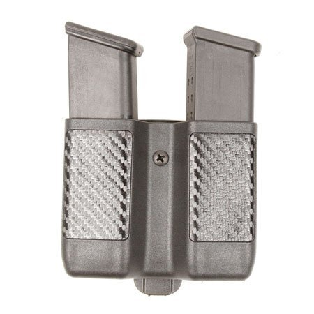 Blackhawk! Double Mag Case Double Stack Carbon 9mm/.40Cal