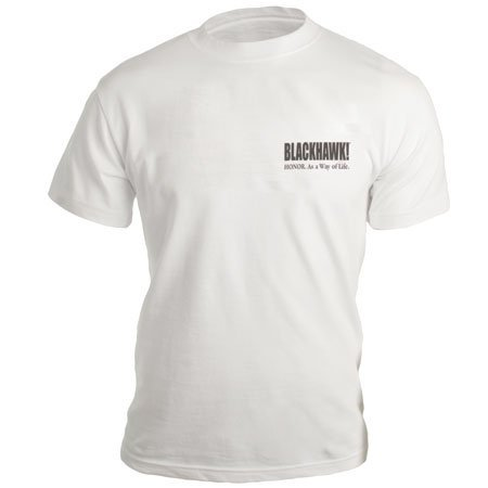 Blackhawk! BLACKHAWK! HONOR T-Shirt (Grey Flag)