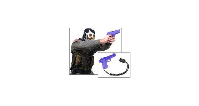 Blackhawk! Tactical Pistol Lanyard Coiled