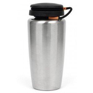 Nalgene WM Bottle Backpacker 1 L, Stainless