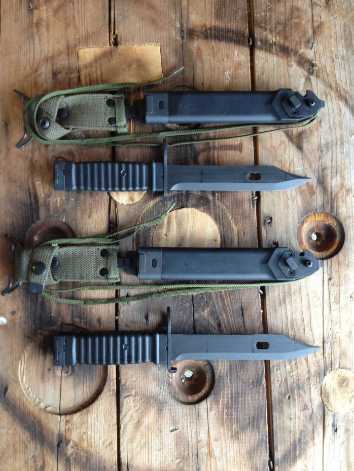 "Eickhorn ""Stoner"" Bayonet Black"