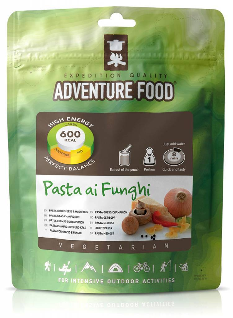 Adventure Food Pasta kaas / champignon (v)
