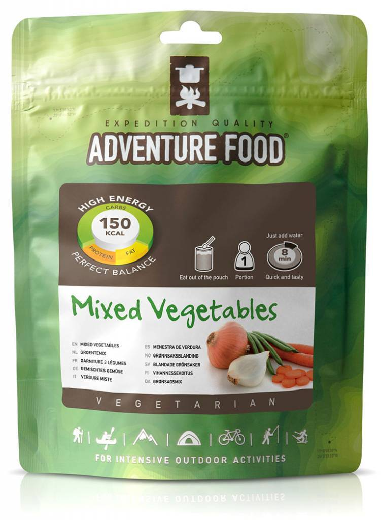 Adventure Food Vegetarian Freeze-Dried Meal: Vegetable Dish