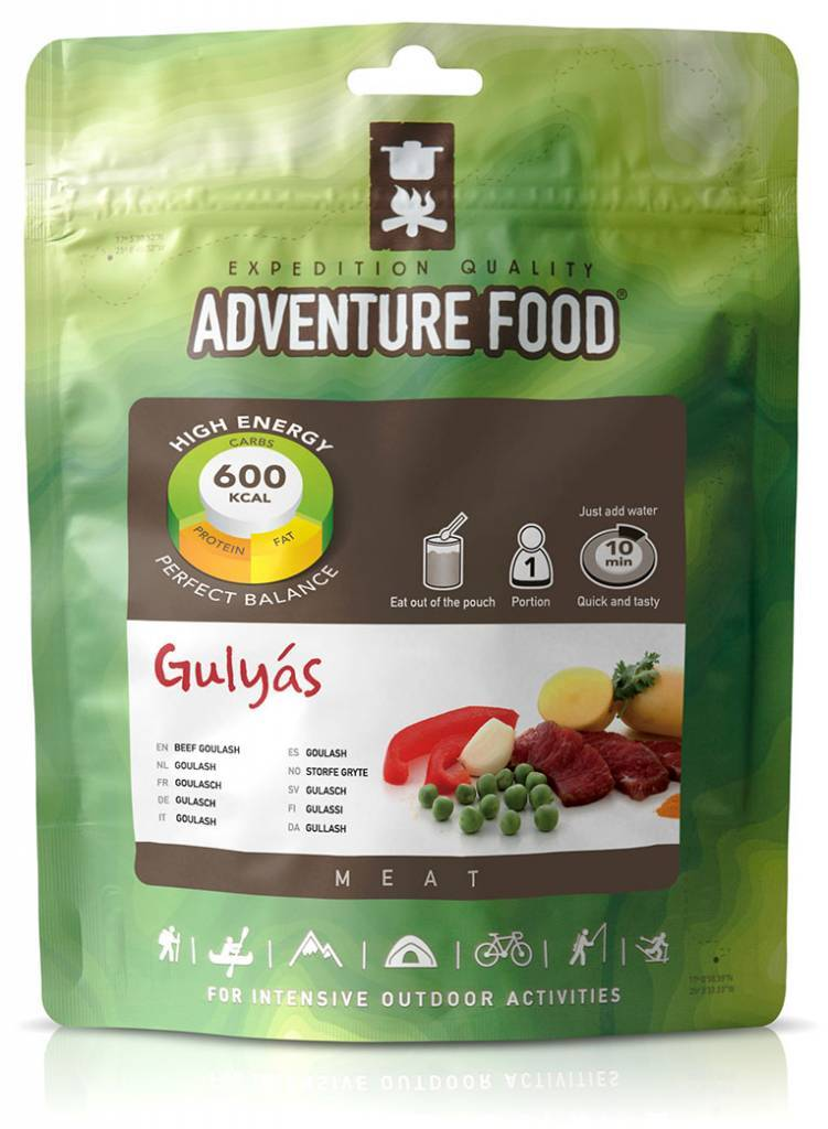 Adventure Food Freeze-Dried Meal: Goulash