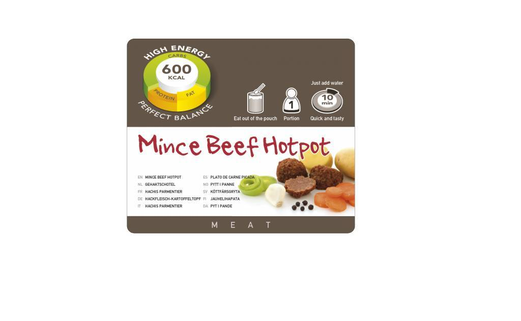 Adventure Food Freeze-Dried Meal: Meat Dish