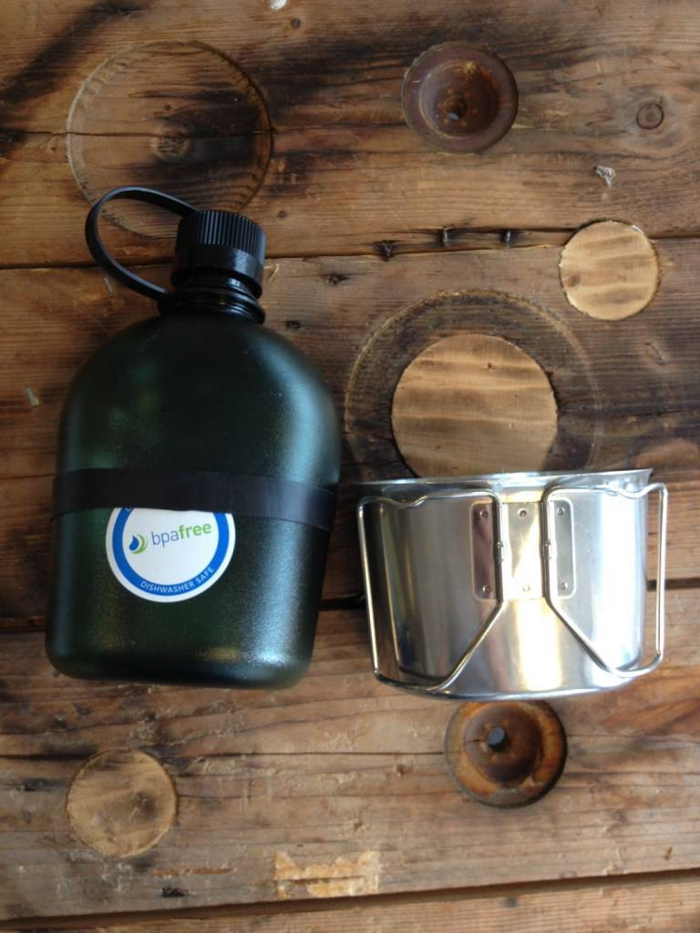 Outdoorgear RVS Canteen Cup
