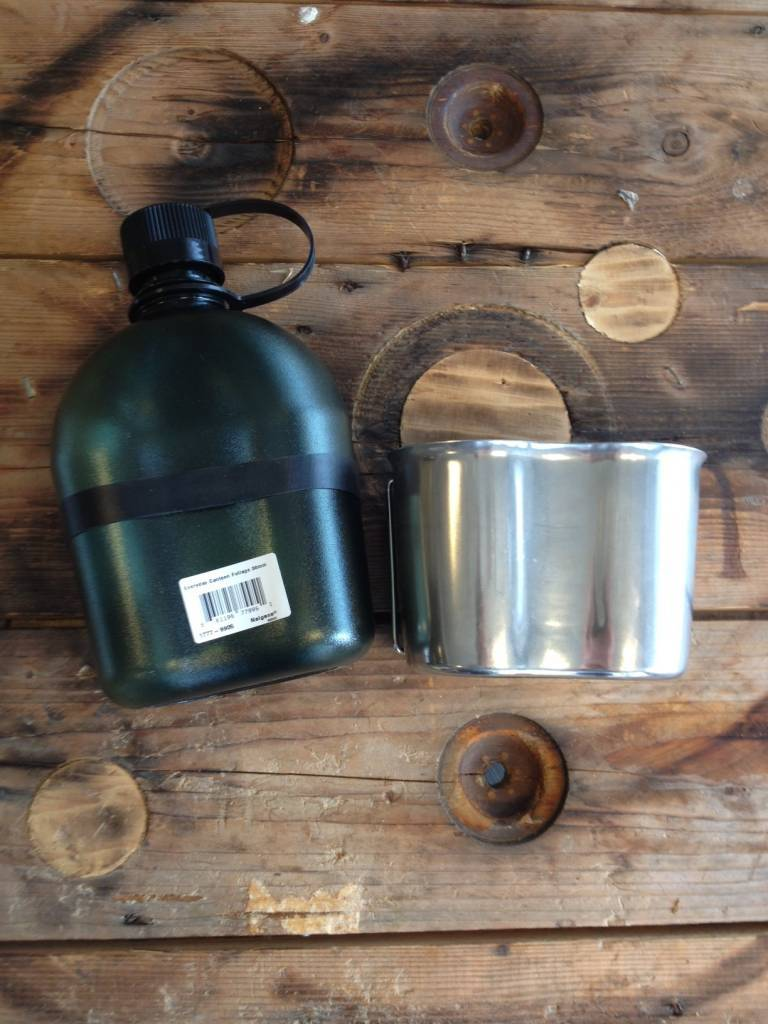 Outdoorgear Stainless Steel Canteen Cup
