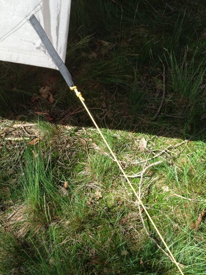 Outdoorgear Polypropyleen touw 3mm