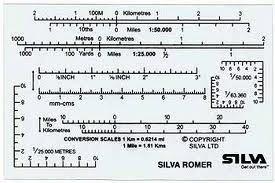Silva Romer kaarthoekmeter