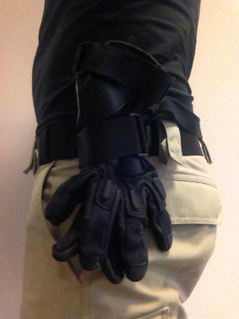 Handschoenhouder (lus)