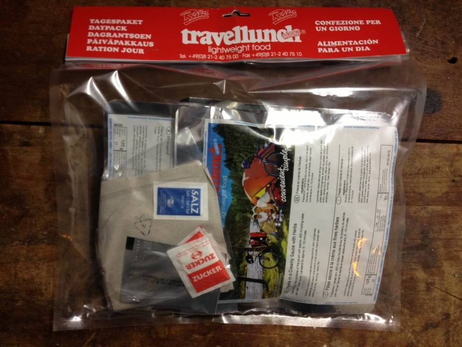 Travellunch Day Package no1 (for cold region)