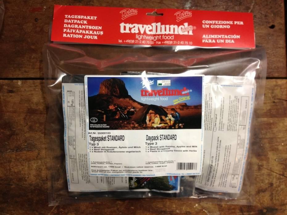 Travellunch Dagpakket no2 (standaard)