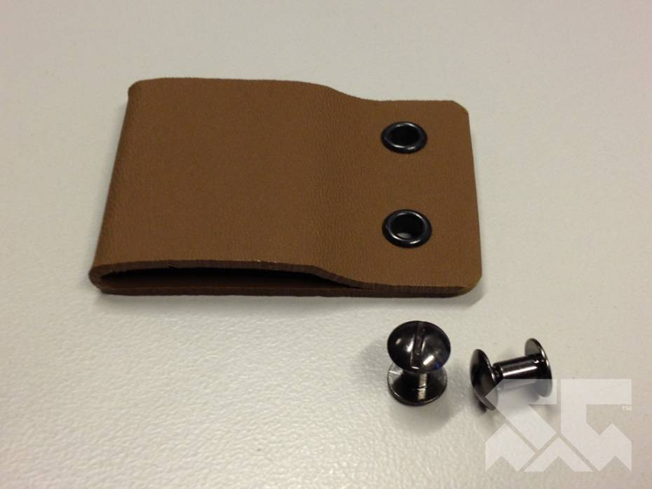 KYDEX Belt Loop - CKK Universal Design - KYDEX - (w/hardware)