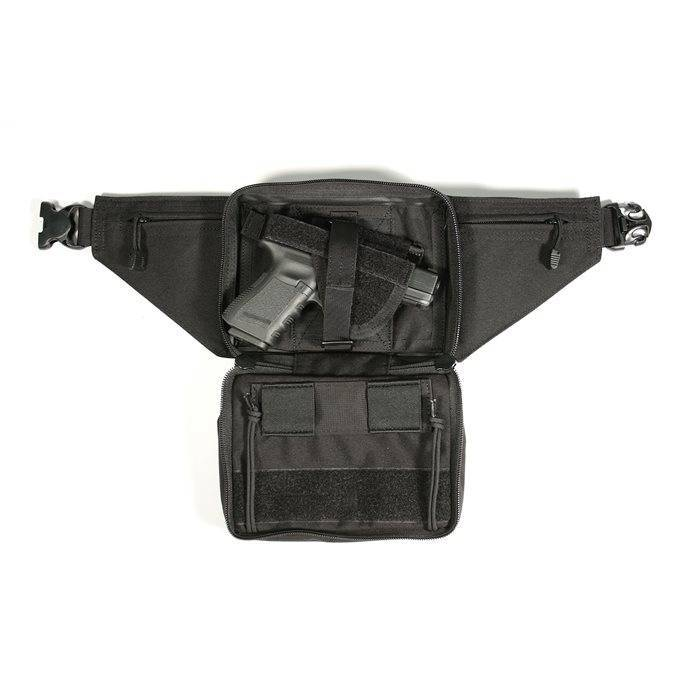 Blackhawk! Nylon Concealed Weapon Fanny Pack Holster - Ambidextrous