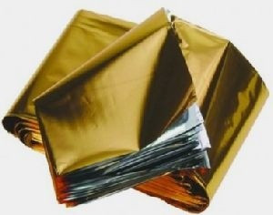 Emergency Aluminium Foil Survival blanket