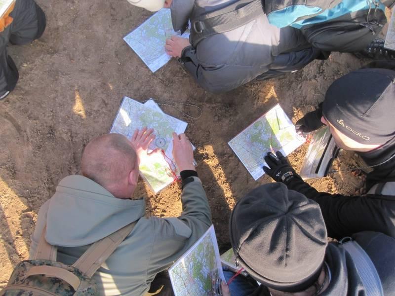 Kaart lezen en navigatie (dag)