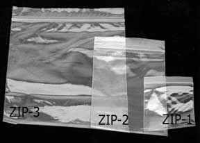 Outdoorgear Zip Lock Zakjes (160x250mm)